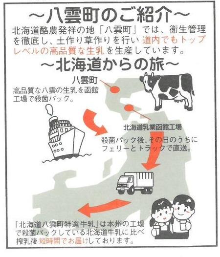八雲町のご紹介・北海道からの旅
