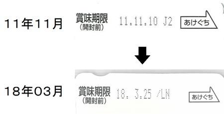 11年11月→18年03月