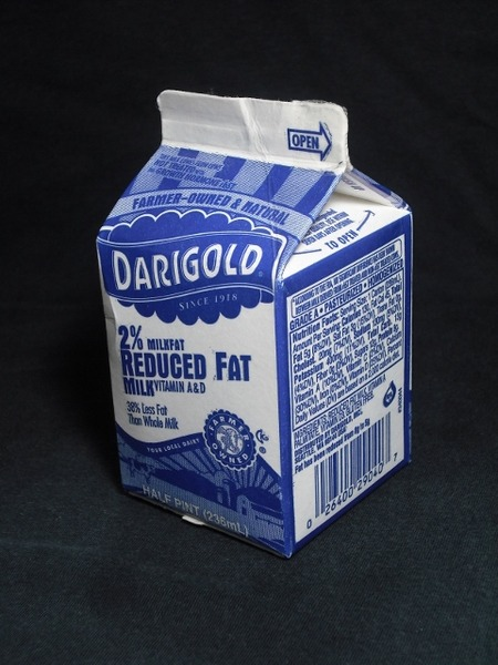 DARIGOLD「2%REDUCED FAT MILK」14年08月 from Sべさん