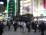 新橋駅前のSL