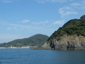 地島に着きました。