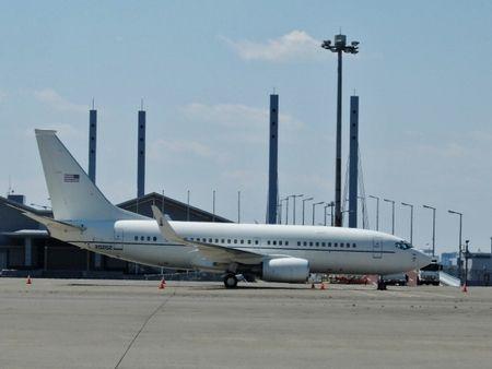 アメリカ空軍の人員輸送機C40