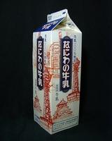 いかるが牛乳「なにわの牛乳」07年6月fromKazagasiraさん
