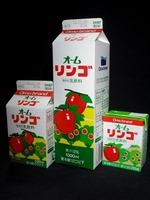 オーム乳業「オームリンゴ」12年12月