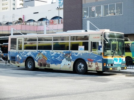 武蔵と小次郎バス