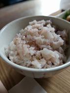 乳清で炊いた十六雑穀米
