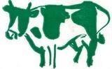 パックに描かれた牛さん