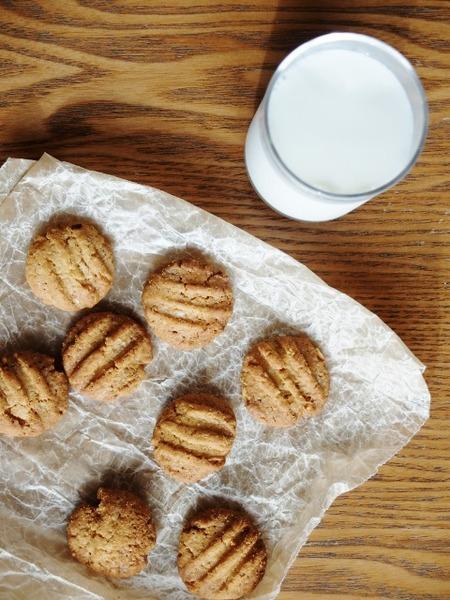 いただきもののクッキーを♪