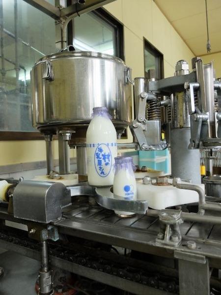 製造終了後の大庭牛乳にお邪魔しました。
