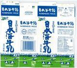日本海乳業「日本海牛乳」07年8月