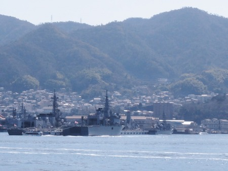 護衛艦や潜水艦がいっぱい♪