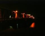 諸富橋も暗かった