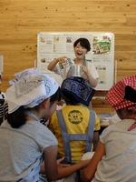 永利牧場で乳和食ワークショップが開催されました。