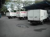 配達の保冷トラック