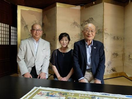 左から、平田さん、大庭さん、矢澤先生