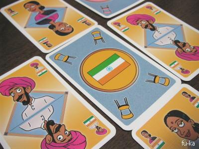 カフェインターナショナルカードゲーム