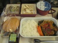成田−仁川機内食