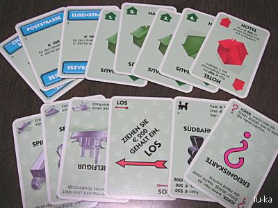 モノポリーカードゲーム