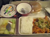 仁川−フランクフルト2回目機内食