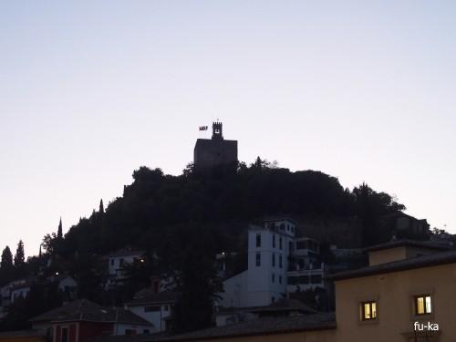 早朝のアルハンブラ
