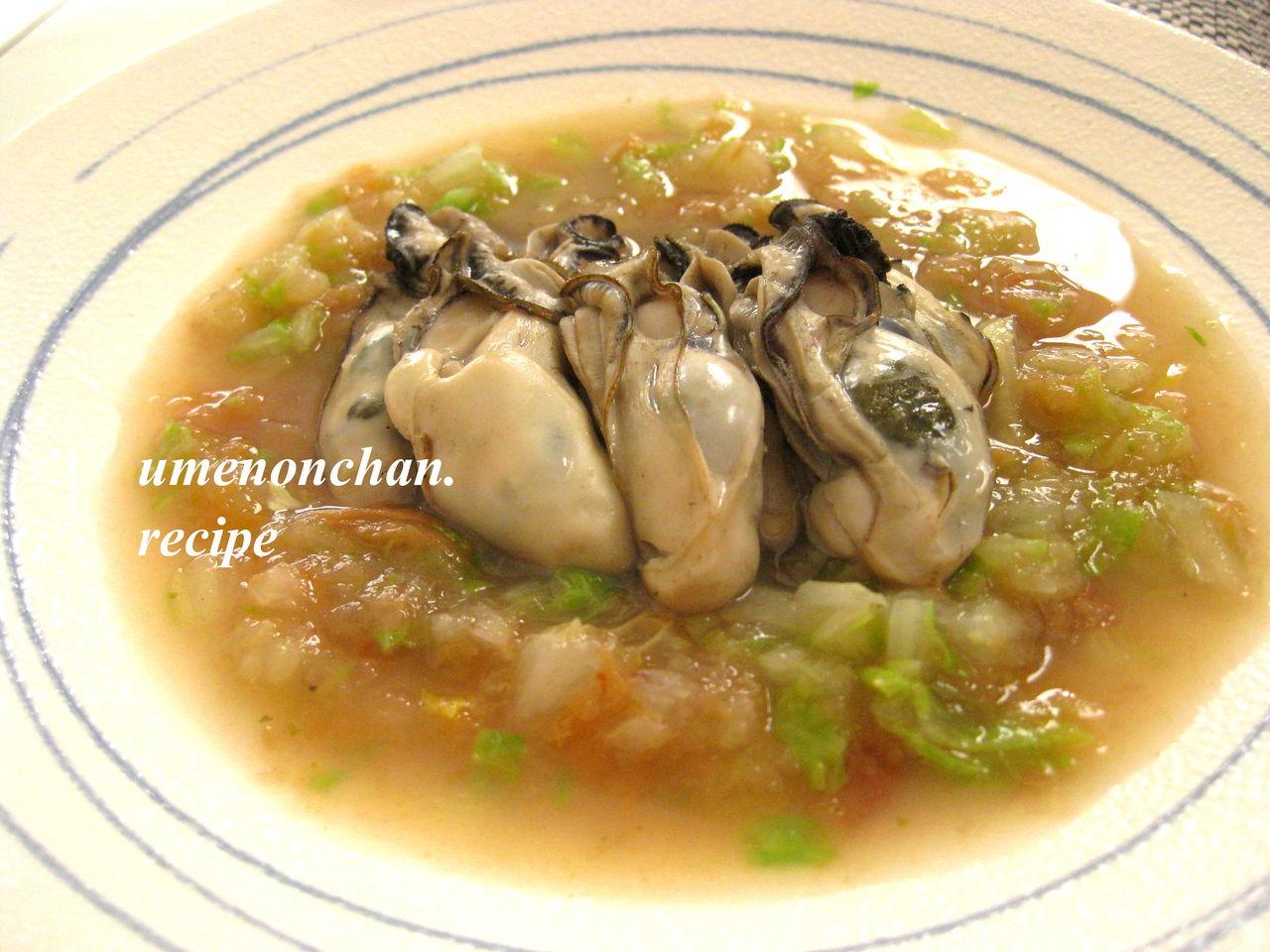酒 蒸し の 牡蠣