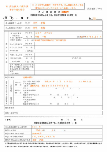 本人確認記録記載例_page001