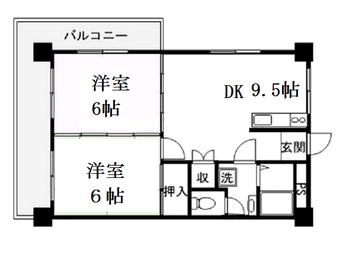アルフェックス2DK (2)