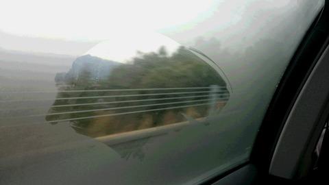 帰りの車窓