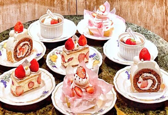 いちご尽くしの「いちごフェア2021」【ケーキショップ コフレ】横浜ロイヤルパークホテル 実食口コミブログ