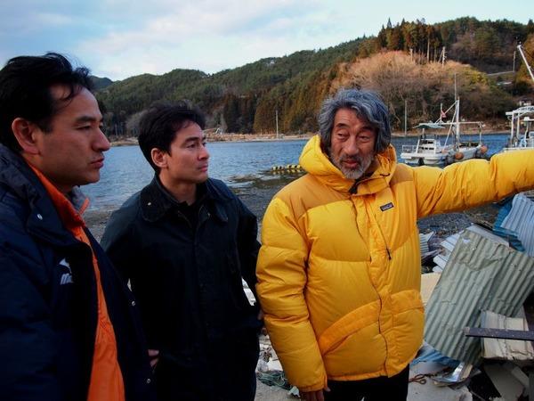 牡蠣の養殖を行っている畠山重篤さんと再会_800