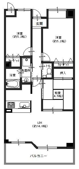 セレブコート尼崎駅前 3階 (2)