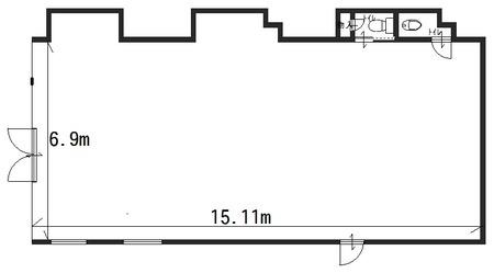 レジオン89 1階店舗