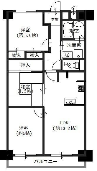 長洲公園サニーハイツ 312号