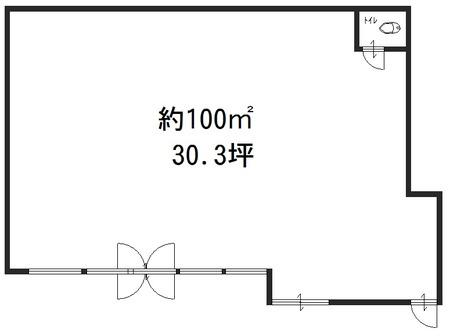 中島店舗 1階