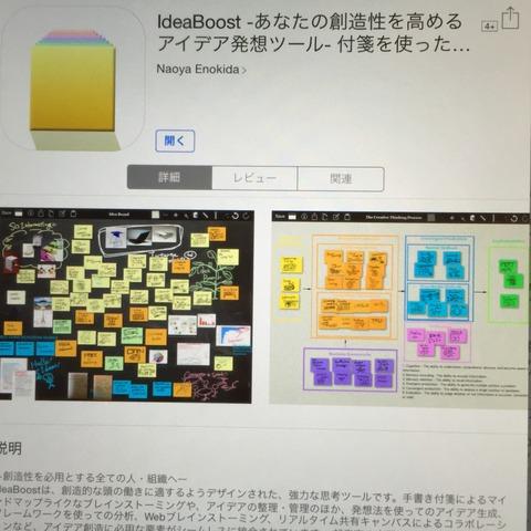 ipadアプリ・アイデア整理整頓
