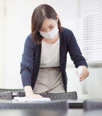 緊急事態宣言解除。除菌消毒剤は用途に応じて使い分けることをお勧め致します。