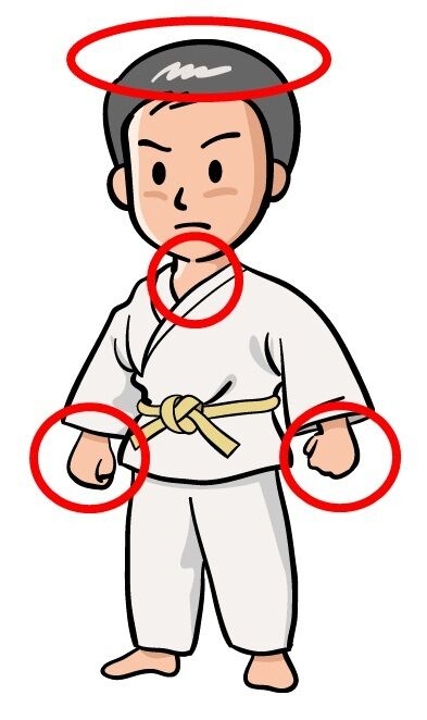 judo shiyohou