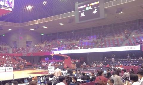 3ポイントシュートの期待と歓喜は感動もの!!川崎ブレイブサンダースの応援にいってきました。