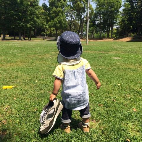 7月27日は「スイカの日」よく落し物を落とす瞬間に遭遇します。その15~定番、赤ちゃんの靴~