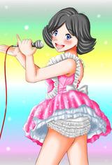 昭和のアイドル歌手。
