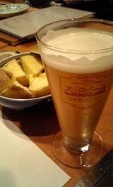 大沼ビールとジャがバター