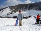 スキーのスマイルハートの社長
