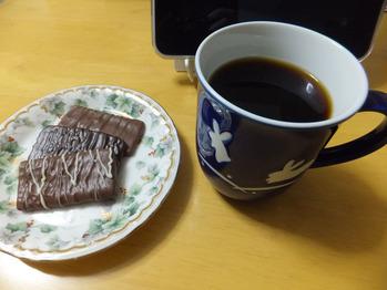 有機コーヒー試飲