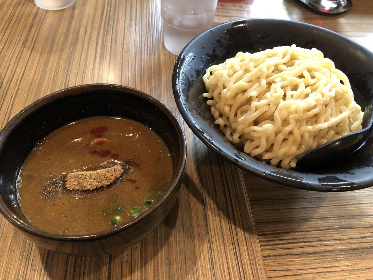 吟醸らーめん 久保田 本店 「吟醸つけ麺 味噌」 2018年5月
