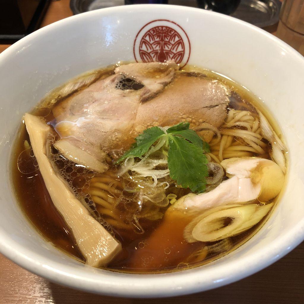 らぁ麺 とうひち 「鶏醤油らぁ麺」