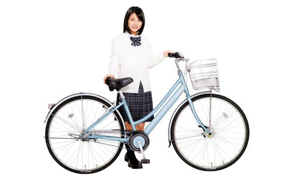 アルベルト自転車と未来ちゃん