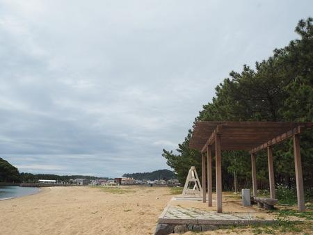6-南島原市加津佐町 前浜海水浴場のブランコP4035526