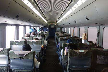 16-JR九州 特急かもめ グリーン車 個室DSC08282
