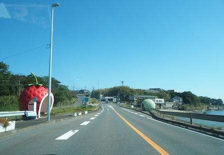 1−諫早市小長井町 井�フルーツバス停PA150517