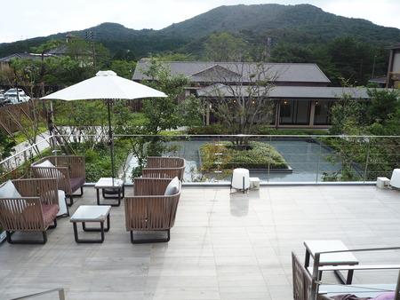 12-雲仙温泉 九州ホテル カフェ The Mellow RidgeP9262723